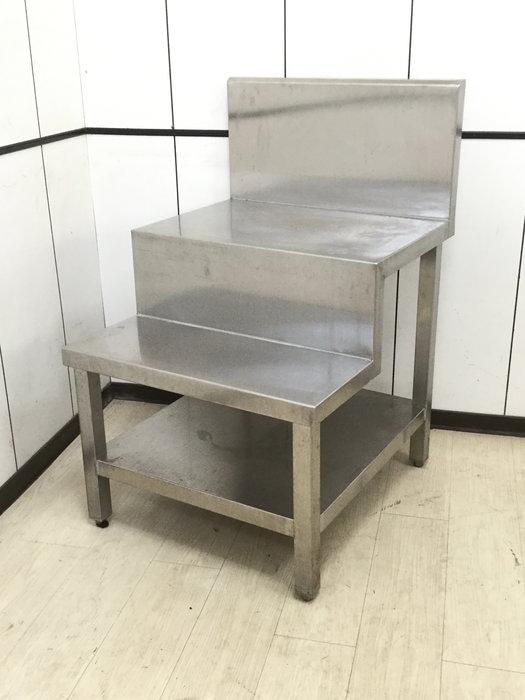 鑫忠廚房設備-餐飲設備:二手手工厚料階梯醬料爐台-賣場有西餐爐-冰箱-烤箱-咖啡機-水槽-櫥櫃-鍋燒快速爐-海產爐