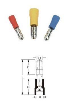 MPD2-156 公预绝缘端頭 子彈頭端子 連接端子(另配套母頭端子)