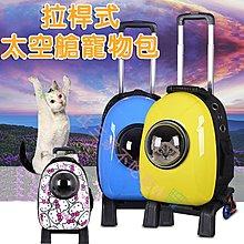 @貨比三家不吃虧@ 拉桿式太空艙寵物包 寵物提袋 狗狗背包 貓包包 背包 寵物後背包 外出背包 太空艙包 外出提籠