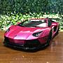 1/18 Kyosho Lamborghini Aventador LB Performance Pink【MGM】
