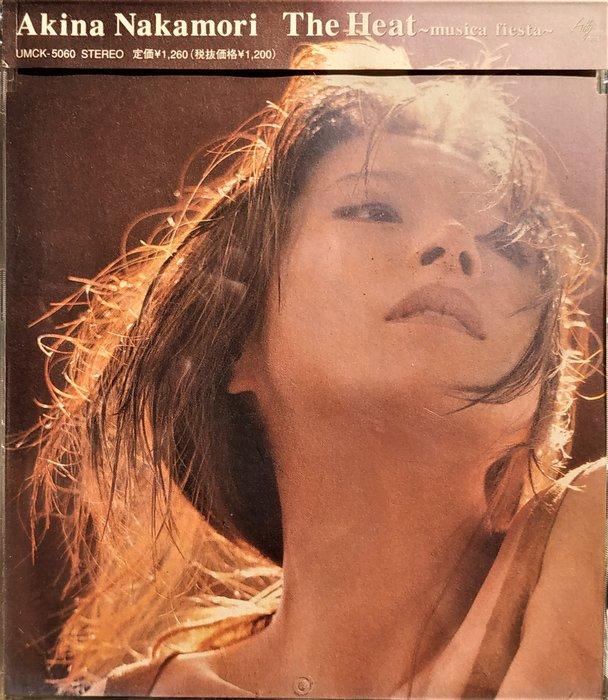 中森明菜 --- The Heat~musica fiesta~ 日版已拆近全新, CD狀況如照片
