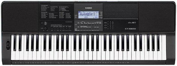 ☆唐尼樂器︵☆ CASIO 卡西歐 CT-X800 61鍵高階電子琴/伴奏琴(加贈琴袋/大延音踏板等超值配件)