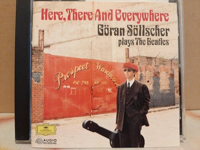 Goran Sollscher Plays The Beatles,Here,There And Everywhere,索爾徹-披頭四的饗宴,如新。