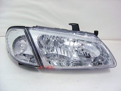 【UCC車趴】NISSAN 日產 SENTRA 180 N16 00-02 晶鑽大燈+角燈 DEPO製 一台份2400