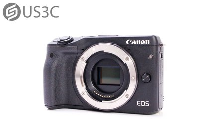 【US3C】Canon EOS M3 單機身 微單眼相機 WiFi 觸控螢幕 APP遙控拍攝 2420萬像素 APS-C