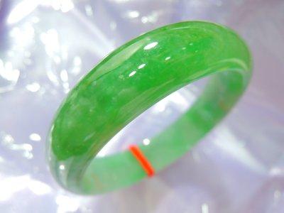 有個翡翠精品老坑冰種翠綠滿色玉鐲 高檔珍藏限時回饋 保證天然A貨可代開鑑定書 翡翠緬甸玉/和闐玉/鑽石寶石祖母綠