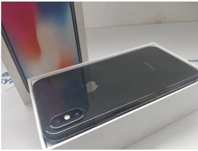 福利品 APPLE iPhone X 256G  保固19.05.26 原廠換整新