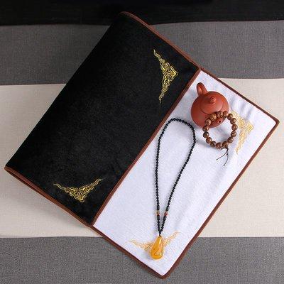 hello小店-玉器展示看貨布穿珠首飾絨布文玩布翡翠玉石墊珠寶墊子#飾品架#展示道具#