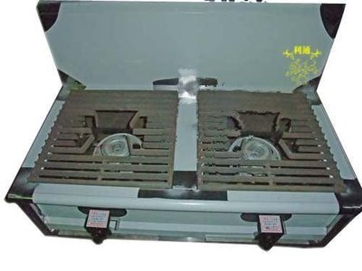 《利通餐飲設備》 厚板平口爐 雙口(高45cm)含電子快速爐 雙口高湯爐 2口平口湯爐 二口 高湯鍋