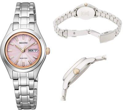 日本正版 CITIZEN 星辰 REGUNO KM2-012-93 女錶 女用 手錶 太陽能充電 日本代購
