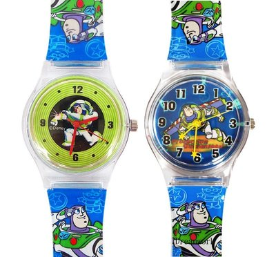 【卡漫迷】 巴斯光年 兒童錶 二款選一 ㊣版 卡通錶 男錶 女錶 玩具總動員 Buzz 手錶 Toys Story