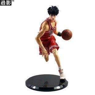 灌籃高手 流川楓人偶模型 帶底座 手辦 籃球 11號球衣 951021