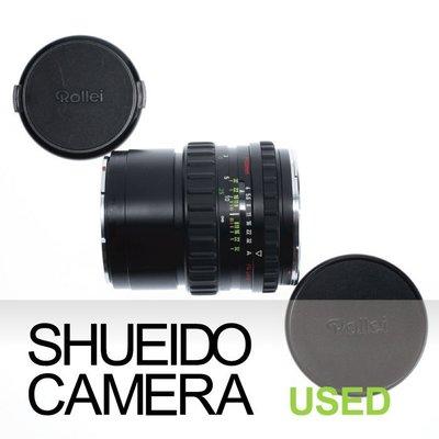 集英堂写真機【3個月保固】新同品 / ROLLEIFLEX  祿萊MAKRO-PLANAR 120mm F4 9850