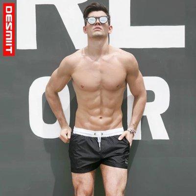 泳褲新品泳褲男平角游泳男士速干海邊寬鬆時尚潮大尺碼舒適溫泉沙灘短褲