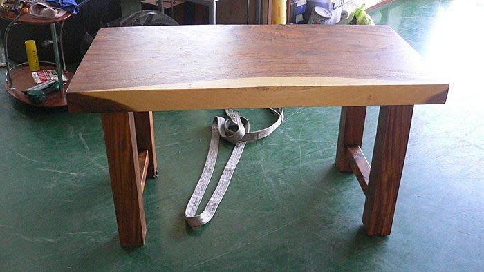 樂居二手家具*LG1039全新雨豆木實木餐桌*餐桌 實木餐桌 雨豆木餐桌 洽談桌 全新餐桌 全新實木餐桌