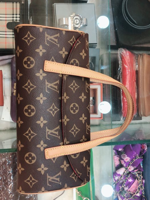 布蘭斯名牌館 * 專櫃真品 LV  M51920天使手提包 ㊣店面貨有保障 實品拍攝