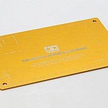大千遙控模型  TAMIYA 田宮四驅車 95201 限定版 HG 鋁合金 設定板 (金)