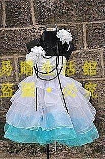 [王哥廠家直销]動漫COSPLAY服裝 cosplay服裝V山茶花MIKU初音未來 全套 定做 COS服裝LeGou_26
