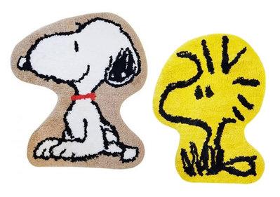 【卡漫迷】 Snoopy 腳踏墊 二選一 ㊣版 史努比史奴比 糊塗塔克 浴室玄關 防滑墊 止滑地墊 Woodstock