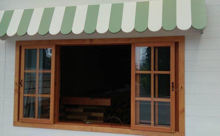 阿亮木頭工坊..格子窗/櫥窗設計/鄉村風/手工木製雜貨