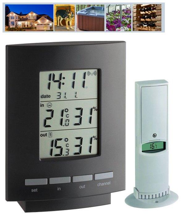 【可自取】德國 TFA 室內戶外溫濕度計 無線傳輸 溫濕度計 溫度計 溼度計 嬰兒房 無塵室 廠房 倉庫 保險箱 監控
