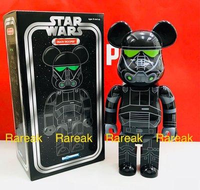 Medicom Bearbrick Star Wars Death Trooper Stormtrooper 400% Be@rbrick