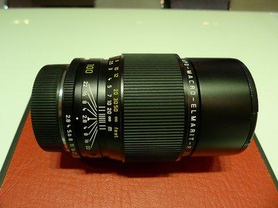 【日光徠卡】Leica APO-Macro-Elmarit-R 100mm f/2.8 二手  #355****