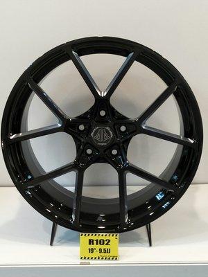 DJD18080755 Nashin 世盟 單片式 鍛造 鋁圈 R102 19吋