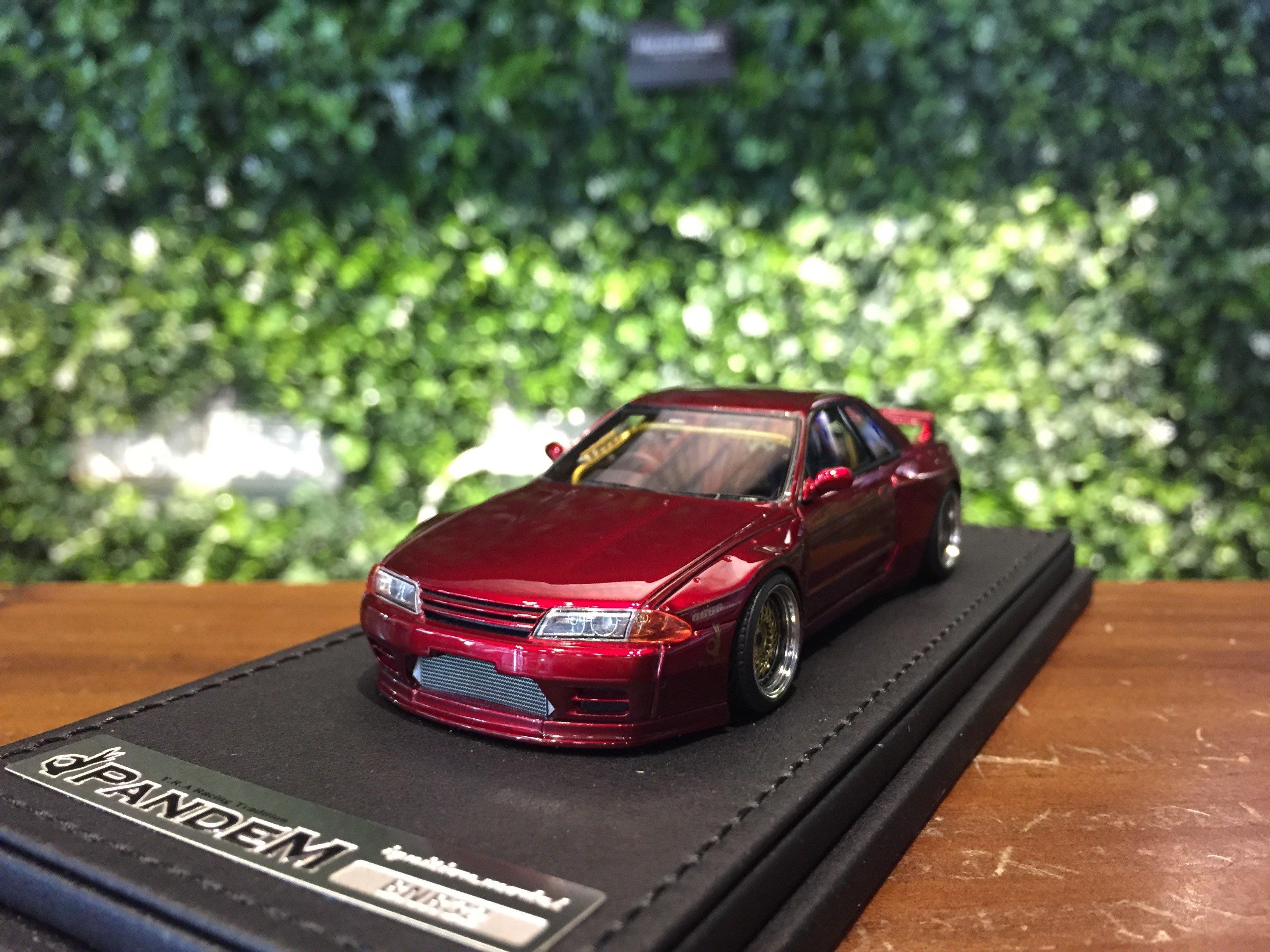 1/43 Ignition Model PANDEM GT-R (BNR32) Red IG1335【MGM】