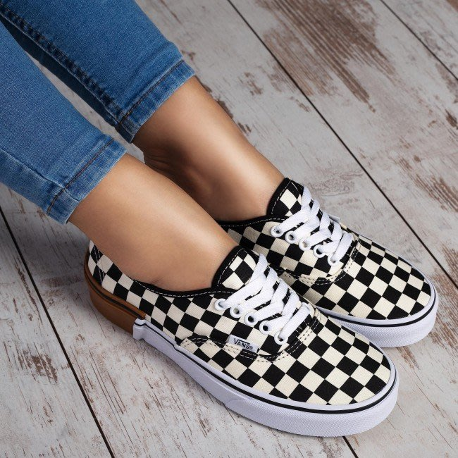 XinmOOn VANS AUTHENTIC VN0A38EMU58 帆布 膠底 棋盤格 棋盤 黑米白 機能 男女