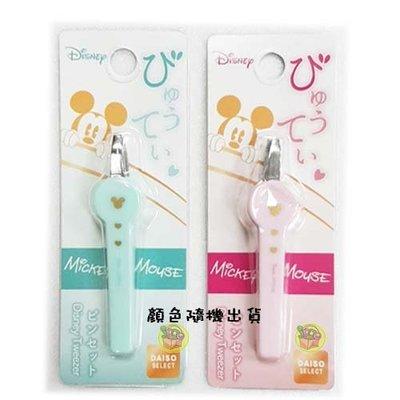 【JPGO日本購】特價-日本進口 大創 迪士尼 disney聯名款 眉毛夾 顏色隨機出貨#048 新北市