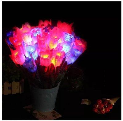 樂芙 LED單支玫瑰花束 ❤ 活動必備 演唱會晚會 求婚用具 贈品 婚禮小物 玫瑰花 情人節 聖誕節 派對 貓耳朵 髮箍