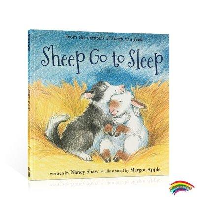 英文原版進口 Sheep go to sleep PB 小羊去睡覺 平裝繪本 親子共讀兒童讀物