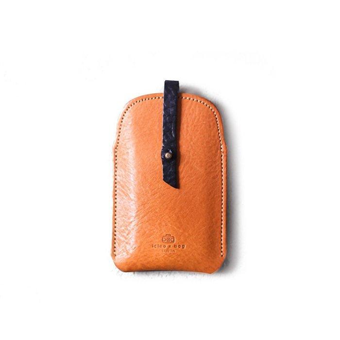 點子包 iclea X bag │真皮吐司名片匣 名片夾 卡片 淺棕 DG18