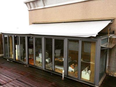 《 龍門帆布 》鋁架帆布、伸縮帆布、遮雨棚、遮陽棚
