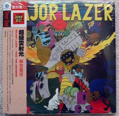 ◎2013全新CD未拆!進口版14首-超級雷射光-解放星球-Major Lazer-Free The Universe等