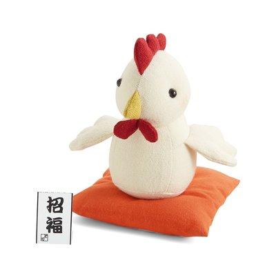 十二生肖布偶裝飾品 材料包 (日本製)-雞 ❤EZ樂活手作❤