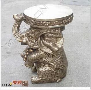 INPHIC-大象圓凳子 換鞋凳 椅子 小矮凳 歐式家居擺飾