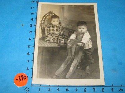 童年,木馬,古董,黑白老照片,相片