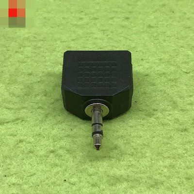 一分二 3.5mm雙聲道插頭 2X3.5mm座 W313-191210[362217] 新北市