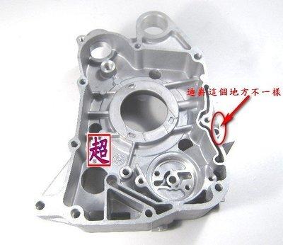 【超機車零件】 全新 豪邁125 引擎鋁殼 右曲軸箱 KS