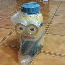 全新未使用 小小兵 minions 神偷奶爸 小黃人 3D 立體造型公仔水壺
