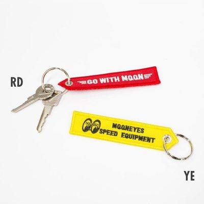 (I LOVE樂多) 新款 MOON Strap Key Chain GO WITH MQQN 電鏽鑰匙圈