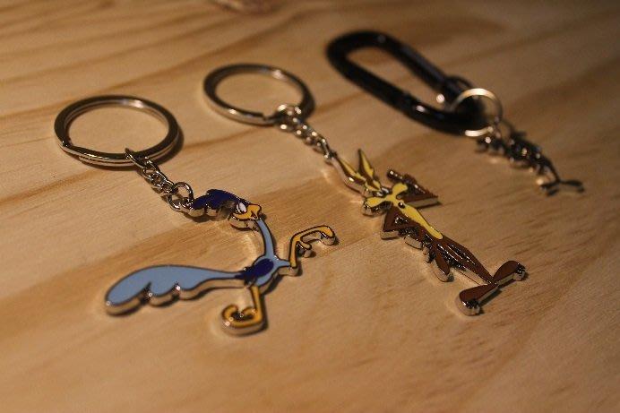 (I LOVE樂多) 日本進口 Warner Bros 華納 嗶嗶鳥/ 壞心狼 鑰匙圈 送人自用兩相宜