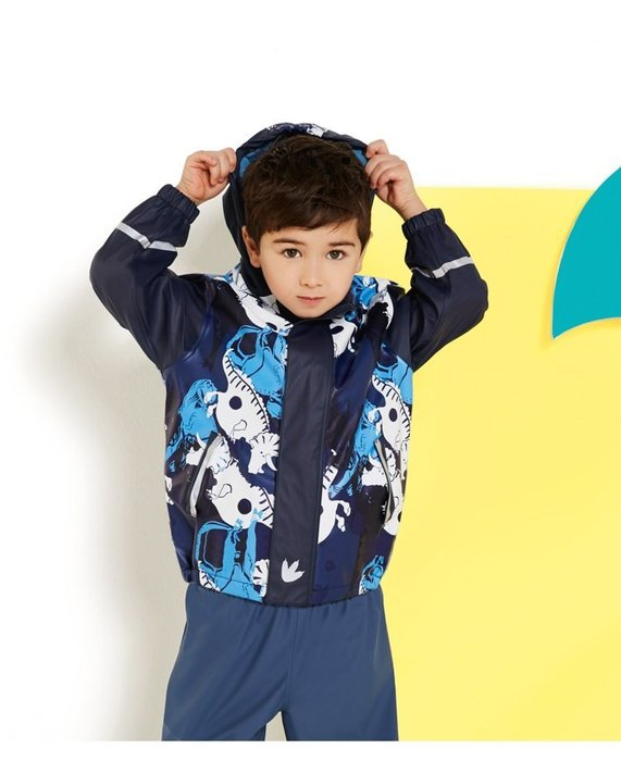 香港OUTLET代購 德國Lupilu戶外兒童衝鋒衣 滑雪服 3M反光條 外套搖粒絨 YKK拉鍊 保暖防水防寒 防風雨衣