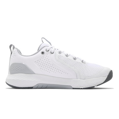 Under Armour 訓練鞋 UA Charged Commit TR 3 白灰 男鞋 ACS 3023703103斷碼
