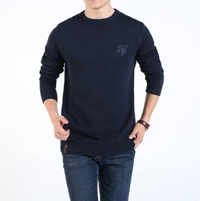 【型男風尚】AZ1514*胸100-116CM 百搭休閒 套頭毛衣 韓版時尚 秋冬 大碼 3色