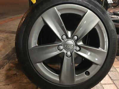 Audi 原廠17吋鋁圈含胎 A3 A4 A6 VW Golf Passat Caddy Touran Tiguan