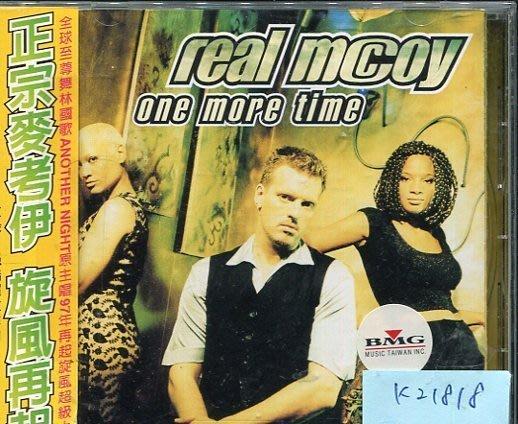 ~真音樂~ REAL MCOY  ONE MORE TIME  K21818