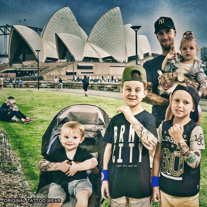 澳洲原創紋身衣著ORIGINAL TATTOO WEAR嬰兒 新生兒 防曬袖套 紋身袖套 刺青袖套預防因太陽產生的痣跟斑